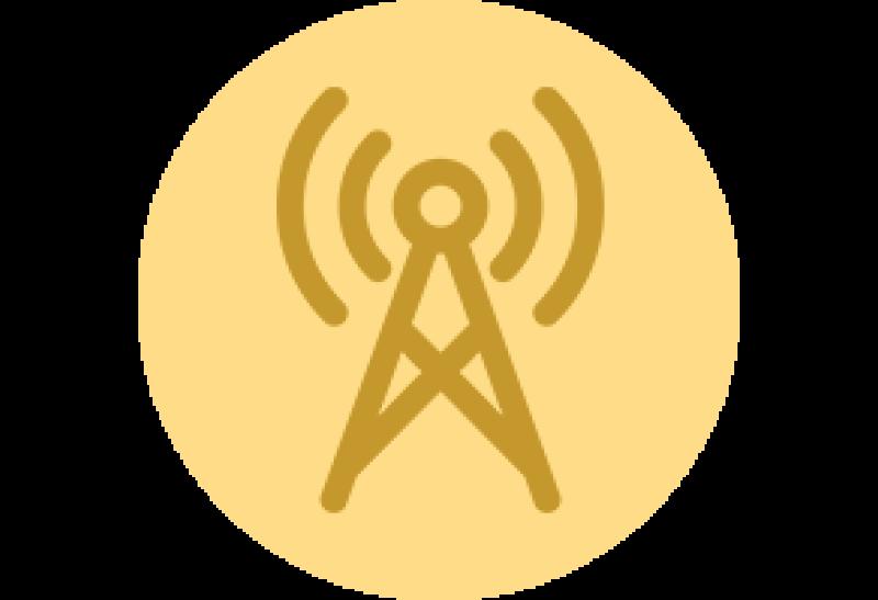 pictogramme tour de communication