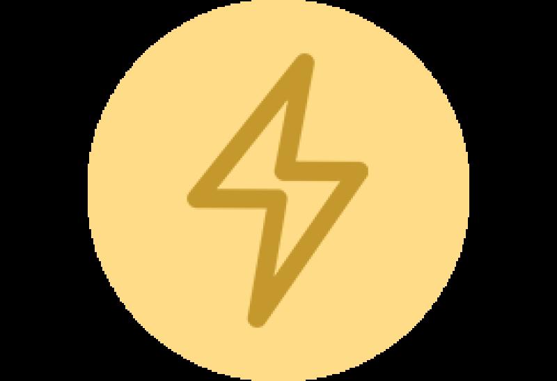 pictogramme éclair électricité